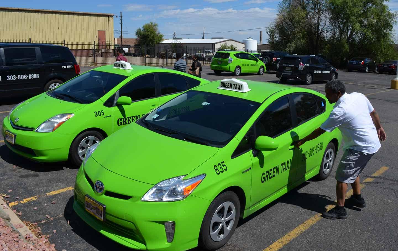 Green Taxi, Taxi