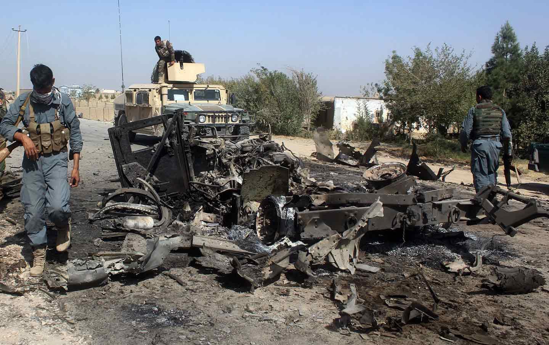 US Afghanistan airstrikes