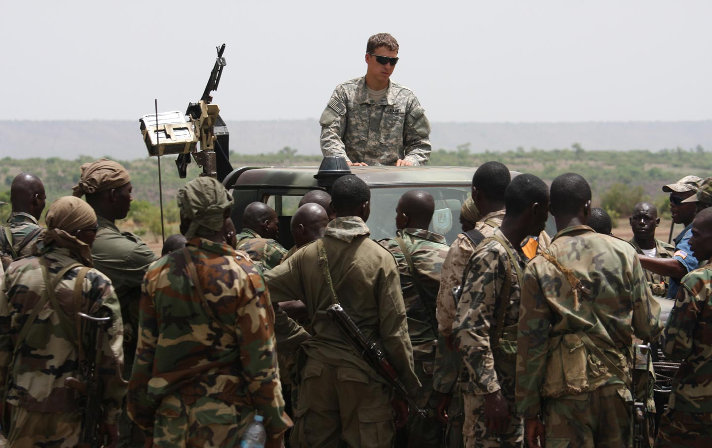 Image result for photos of us special forces in niger