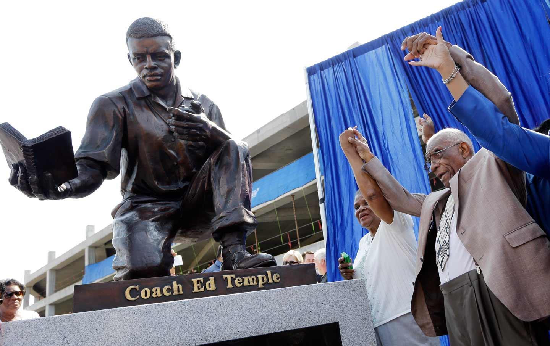 Ed Temple Statue