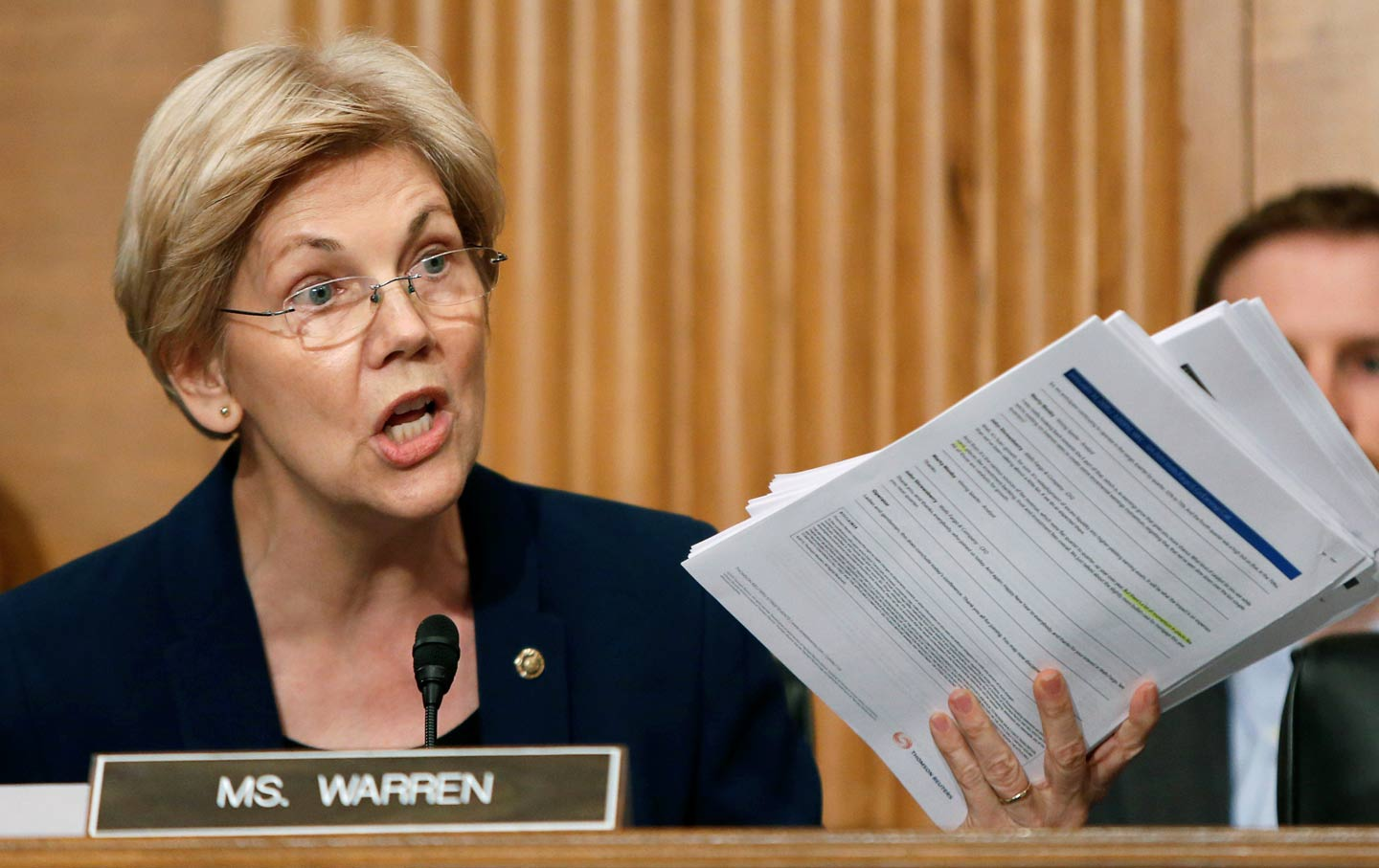 Elizabeth Warren Wells Fargo Documents