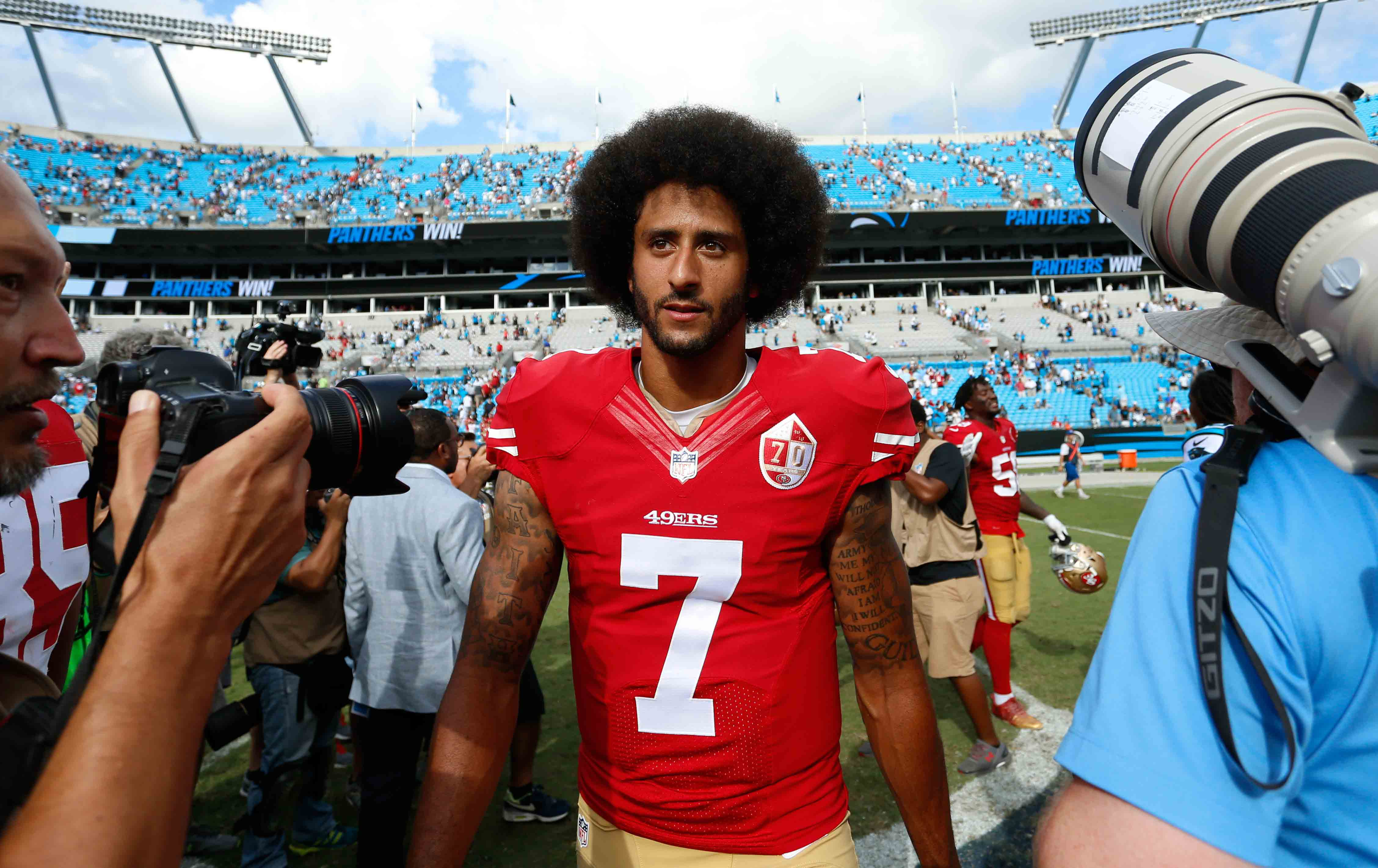 Colin Kaepernick: Colin Kaepernick Has A Right To Hate Both Candidates
