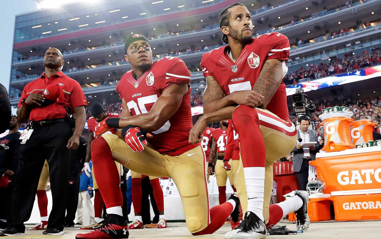 Kaepernick Reid Anthem Kneel