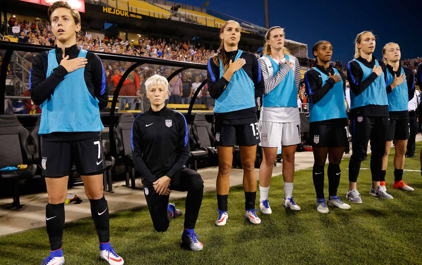 Megan Rapinoe's Statement Echoes the Words of Muhammad Ali