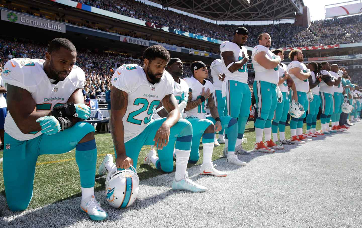 Miami Dolphins national anthem