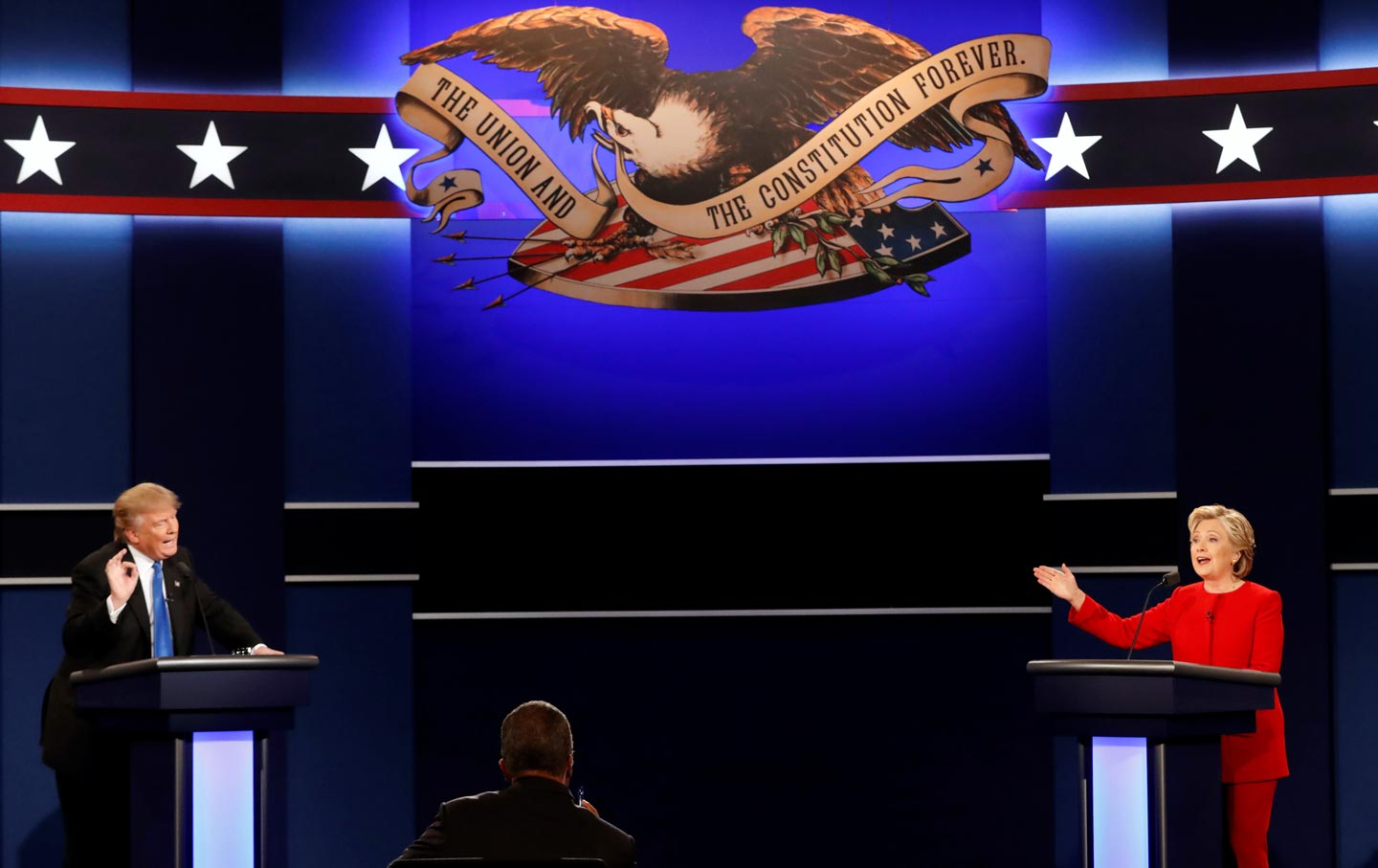 On Debate Night in America, Democracy Is Spectacle | The ...