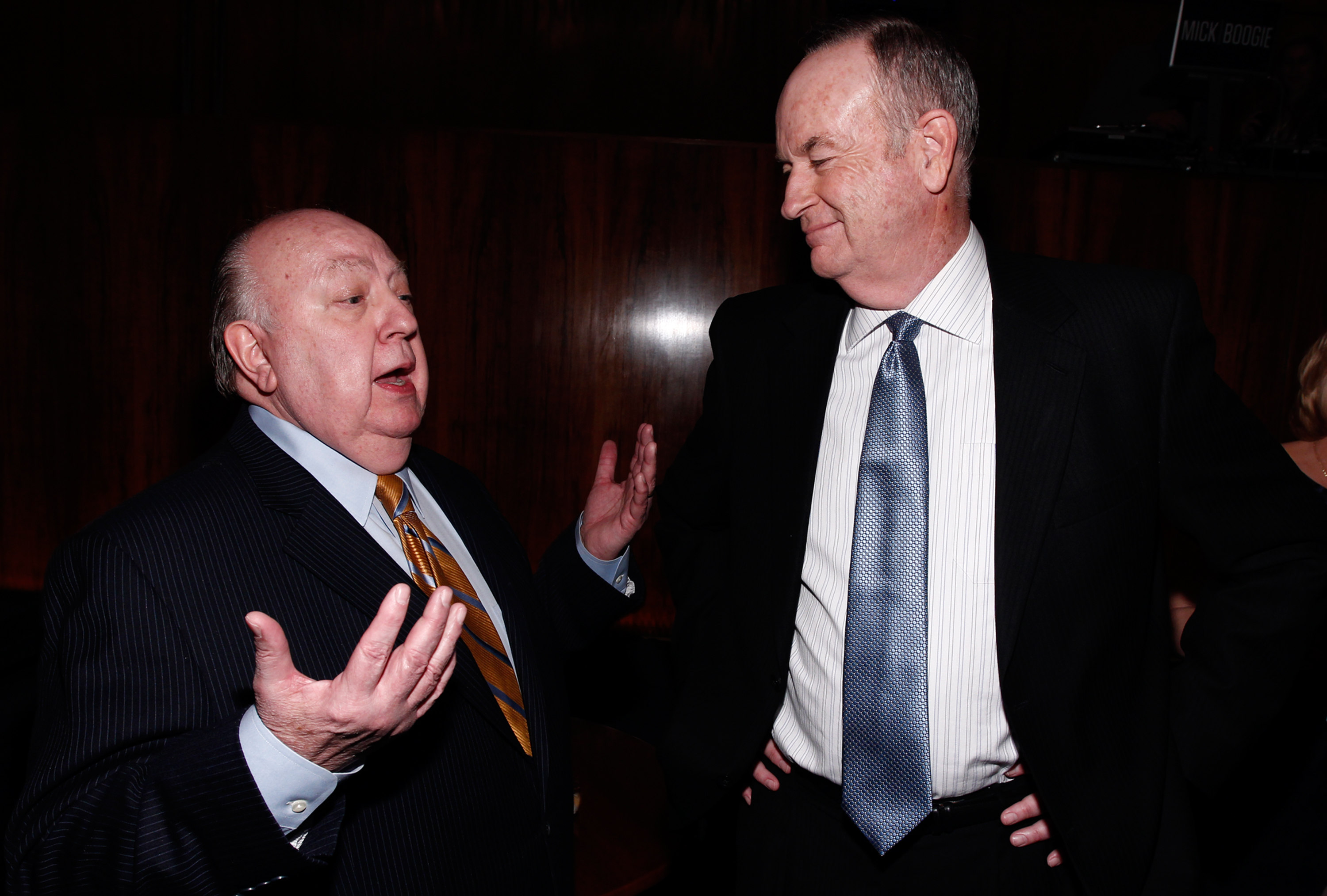 Roger Ailes, Bill O'Reilly