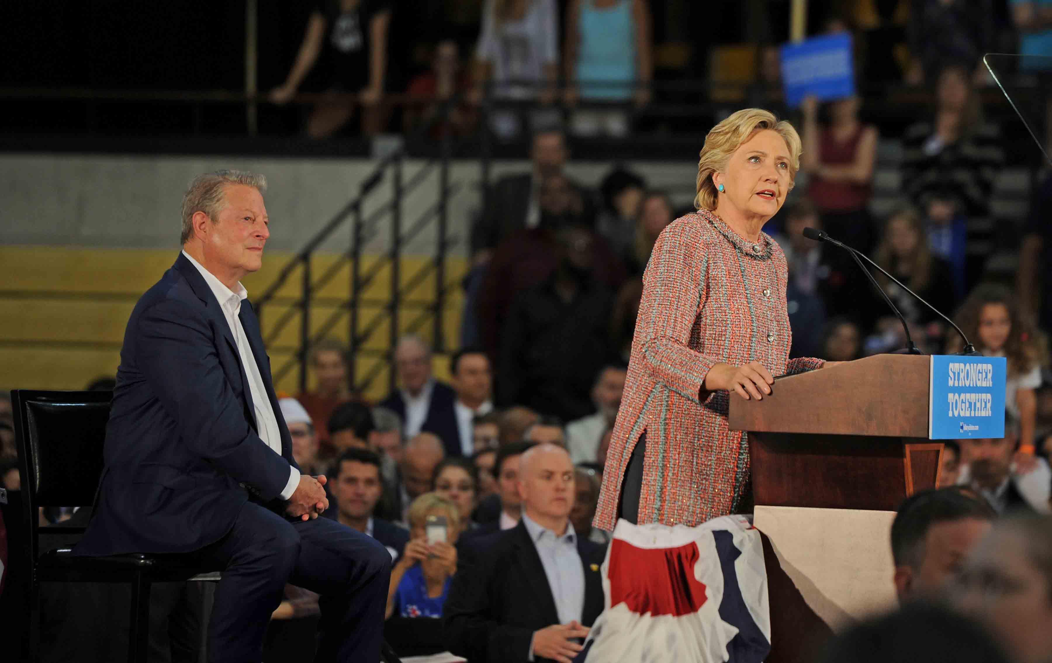 Hillary Clinton Gore Climate