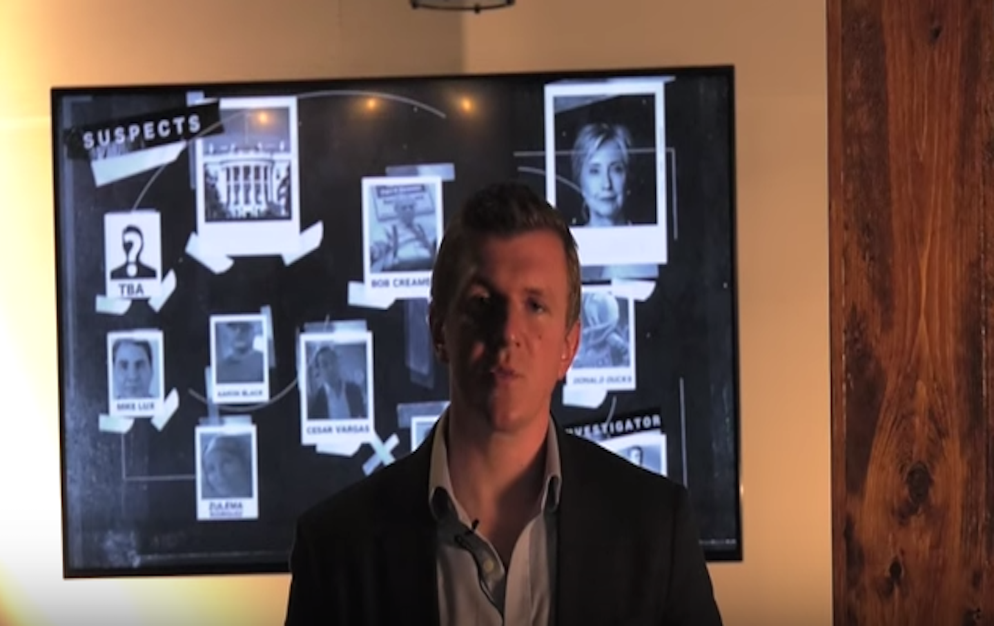James O'Keefe video