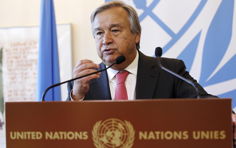 Antonio Guterres Refugees