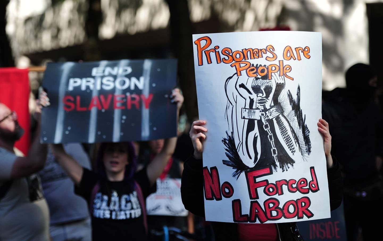 Prison Labor Protest