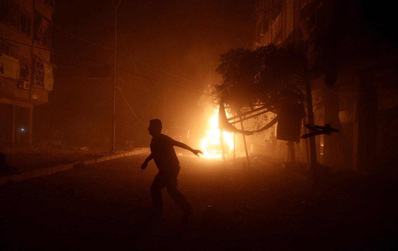 Syria Damascus airstrike
