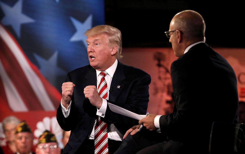 Trump Commander-in-Chief Forum