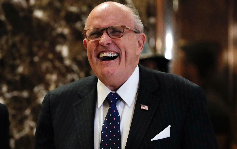 Rudy G in Trump T
