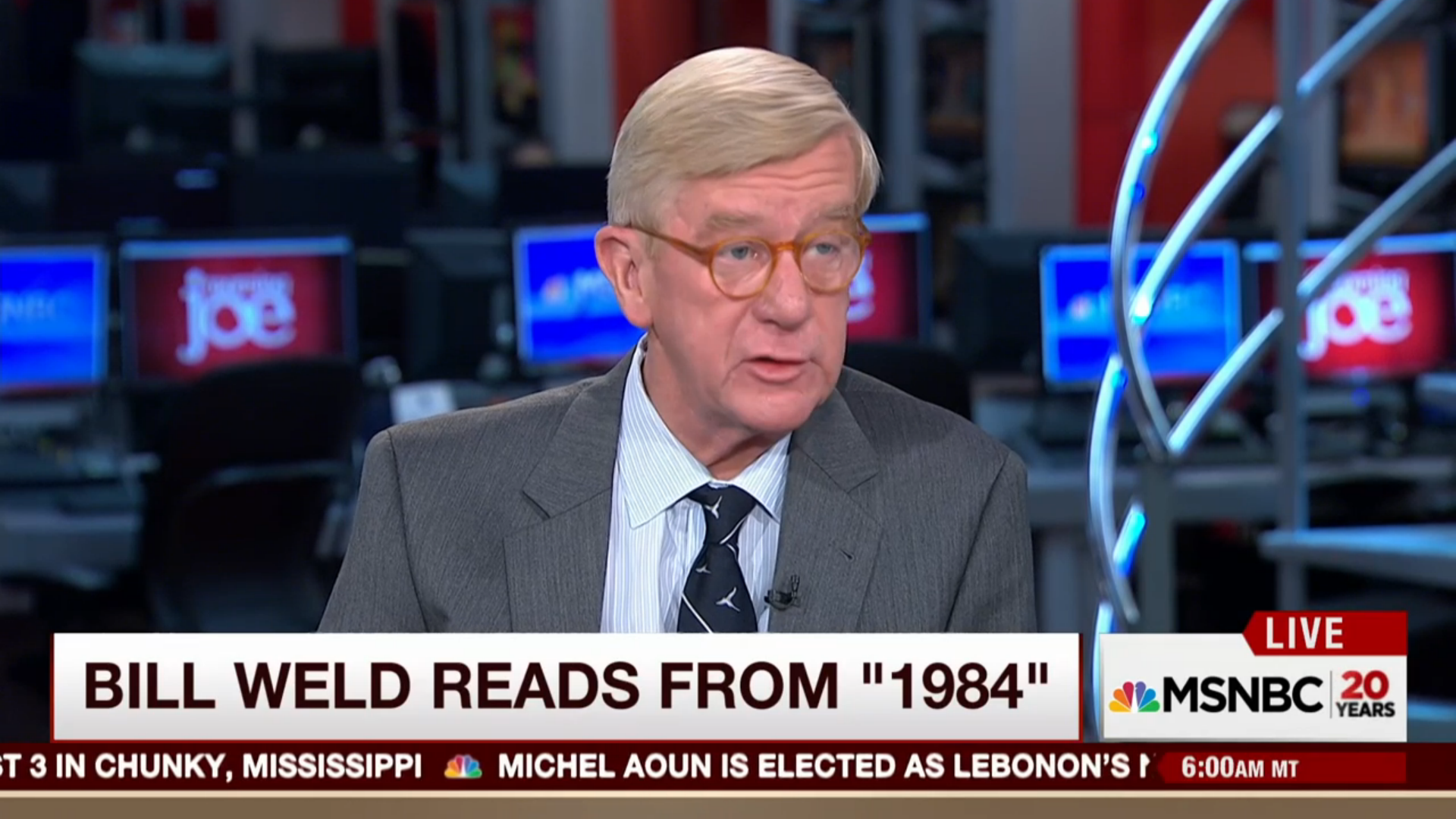Bill Weld Morning Joe
