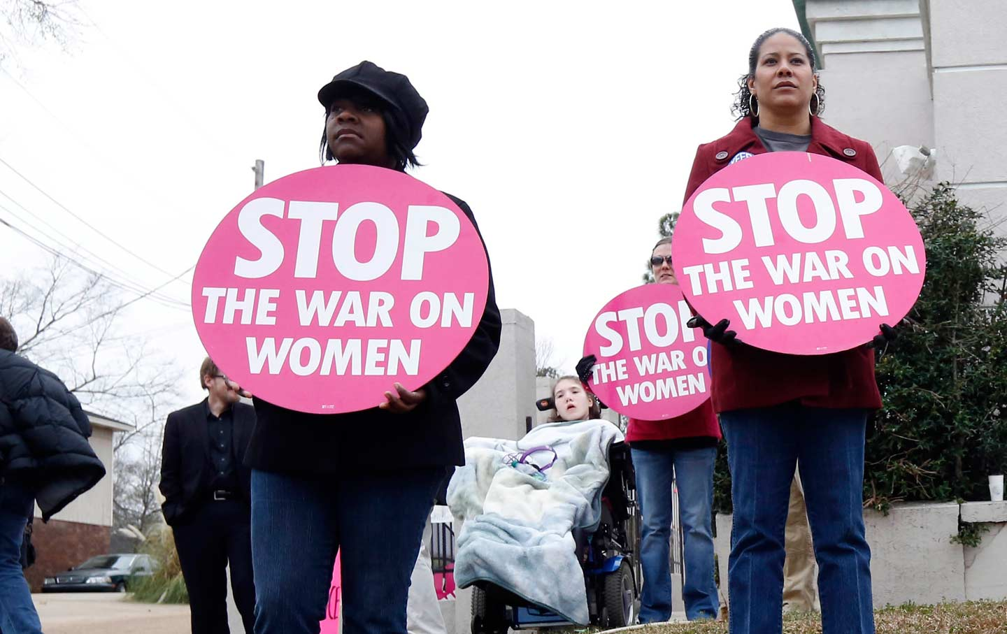 war on women protest