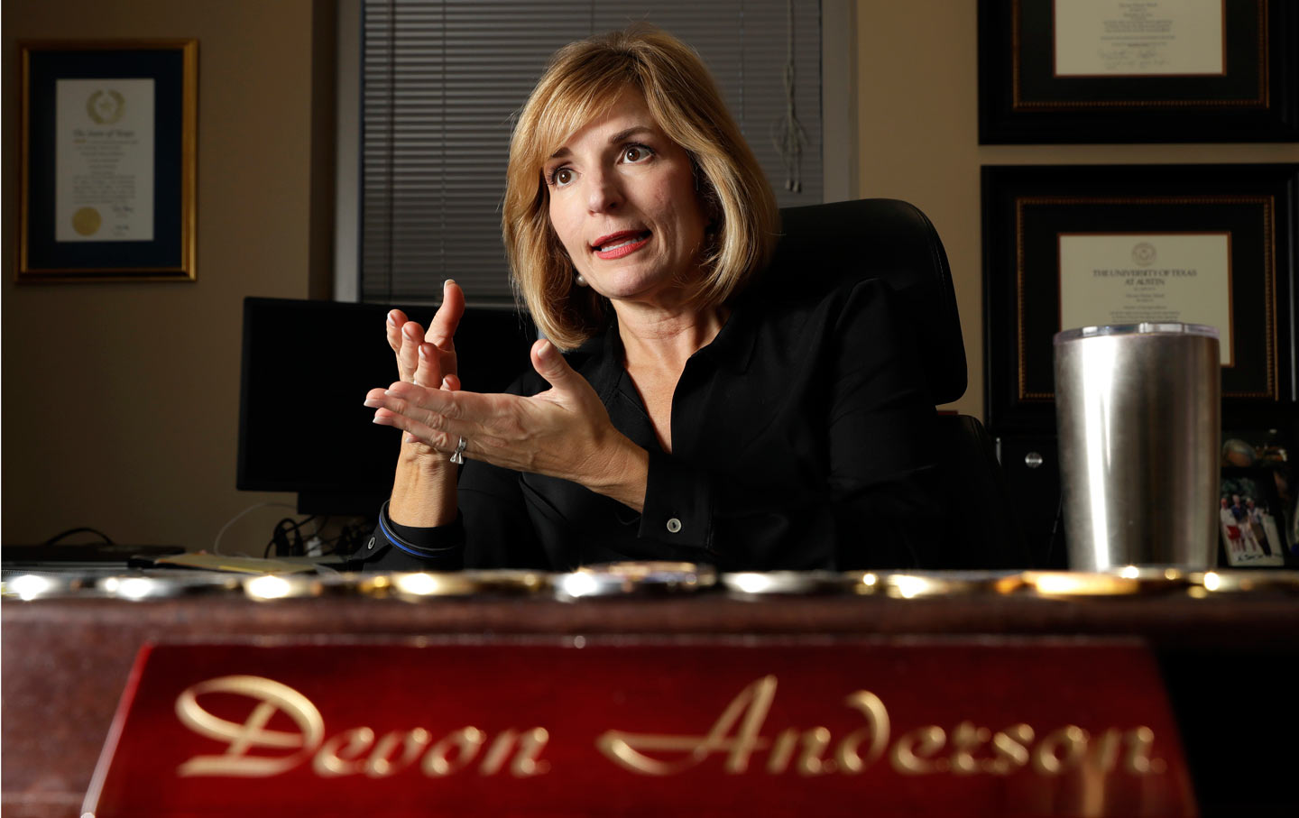 Harris County District Attorney Devon Anderson