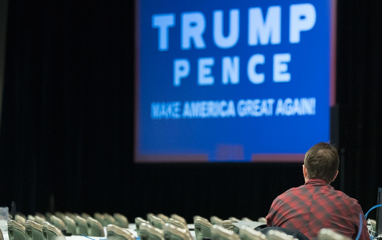 Trump empty