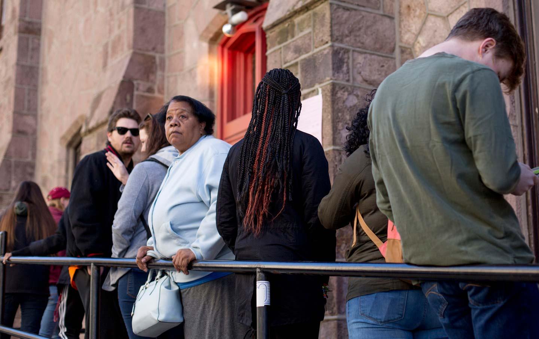 Philadelphia Polling Place