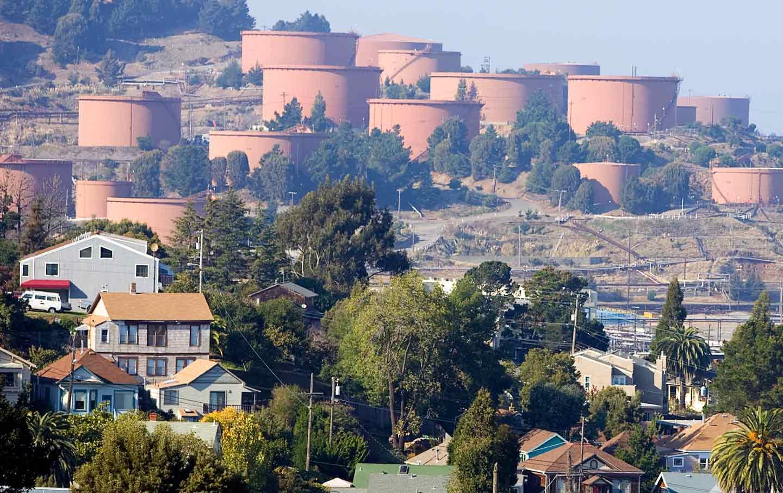 Richmond Chevron Tanks
