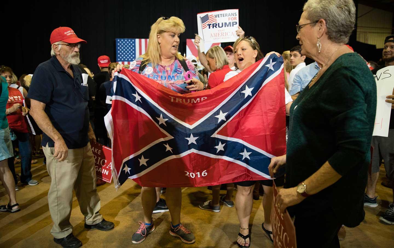 Trump Confederate Flag