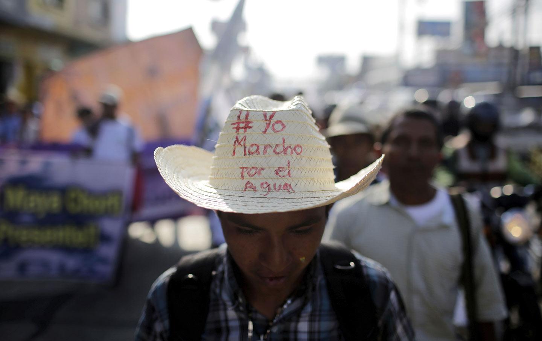 Guatemala Water March