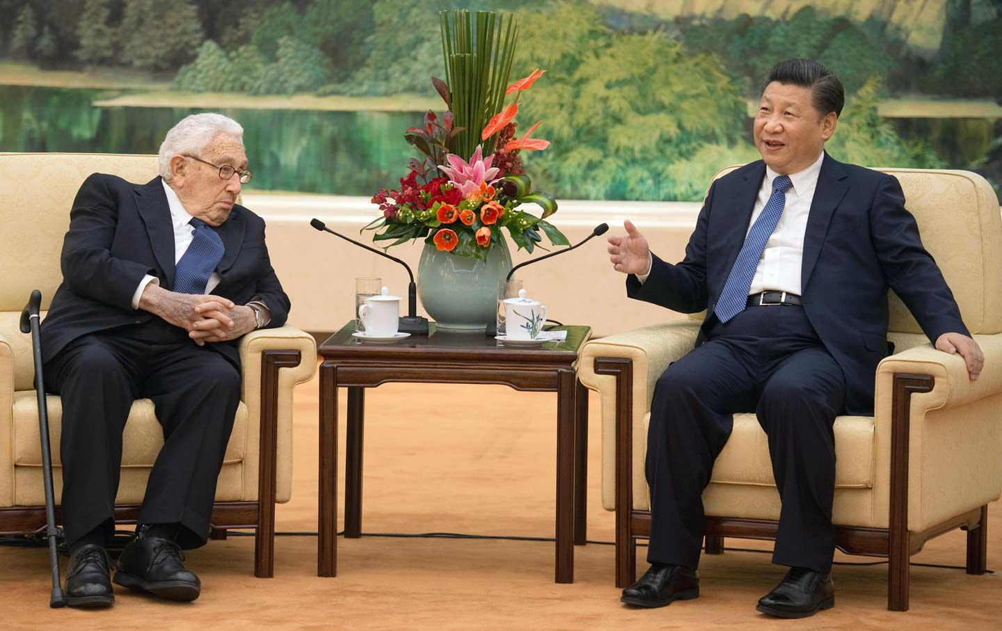 Kissinger and Jinping