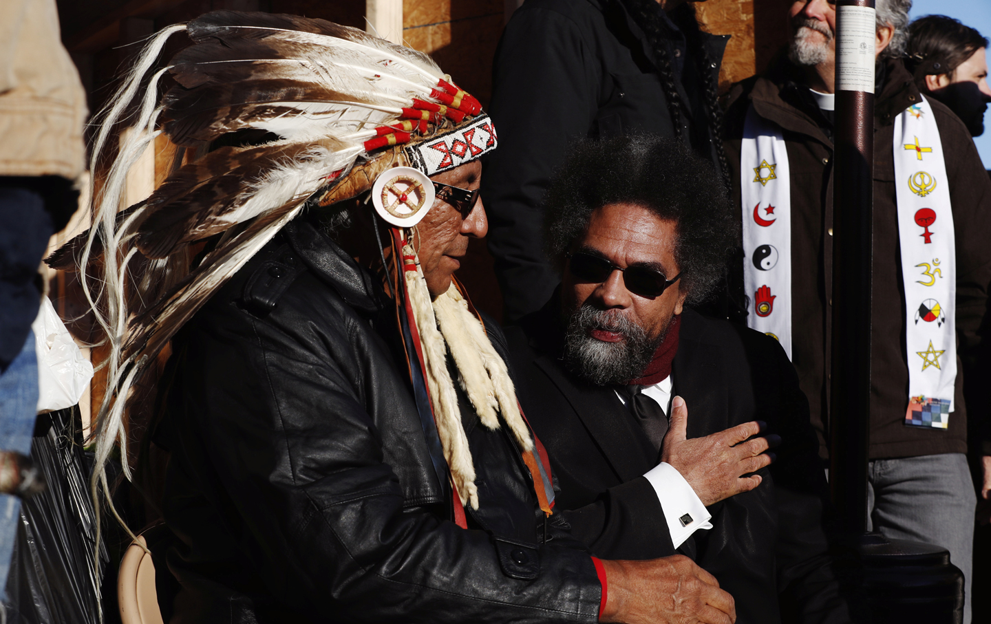 Image result for cornel west standing rock