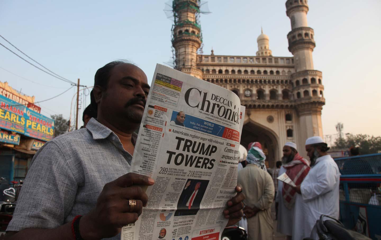 Newspaper in Hyderabad