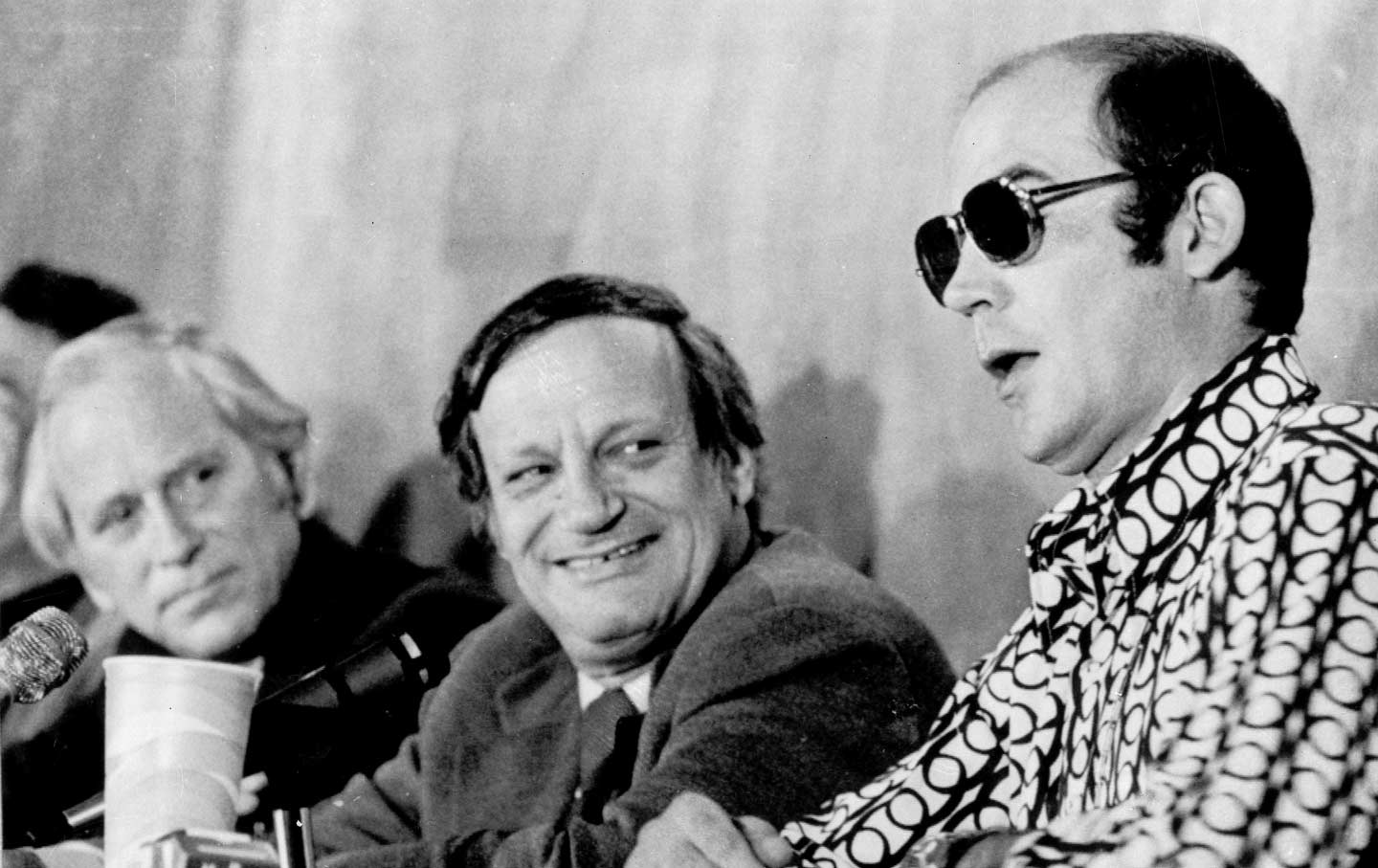 this political theorist predicted the rise of trumpism his hunter s thompson right speaks at a panel discussion in new haven connecticut on 7 1972 ap photo