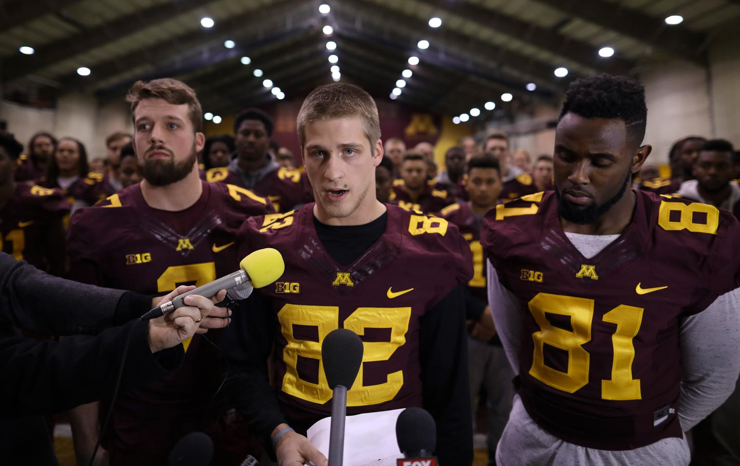buy popular 5adbe 0a8b3 The 'Brutal Solidarity' of the Minnesota Gophers | The Nation