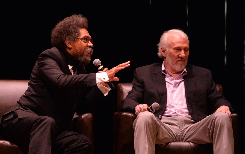 Coach Popovich and Cornel West