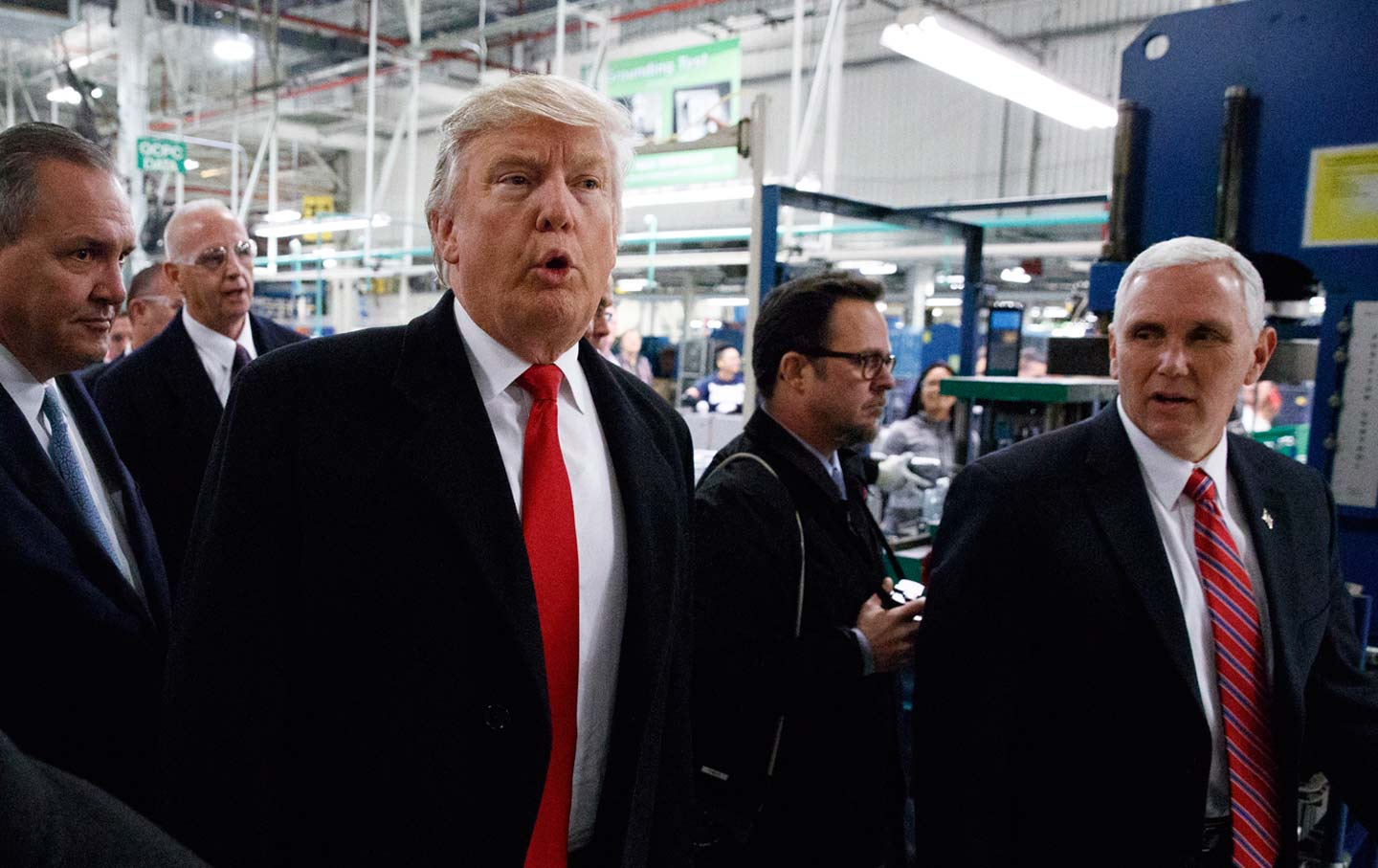 Trump at Carrier Plant