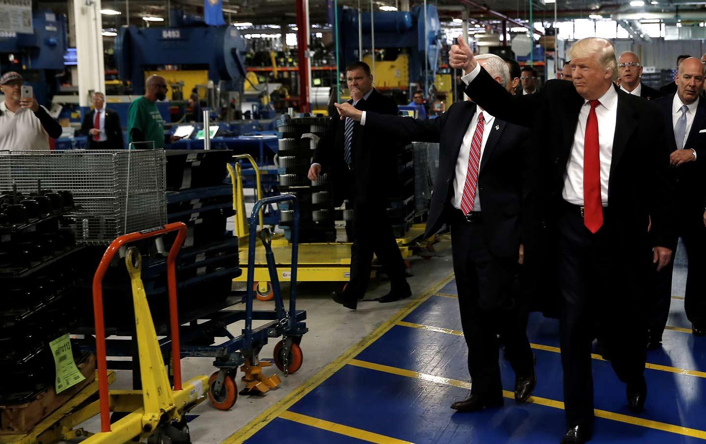 Trump Carrier Factory