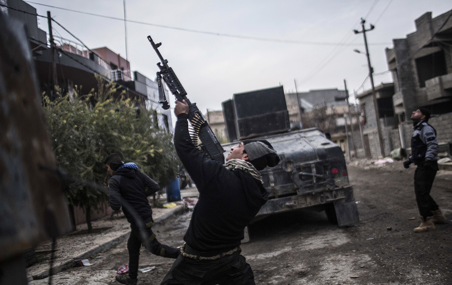 Mosul fight against ISIS