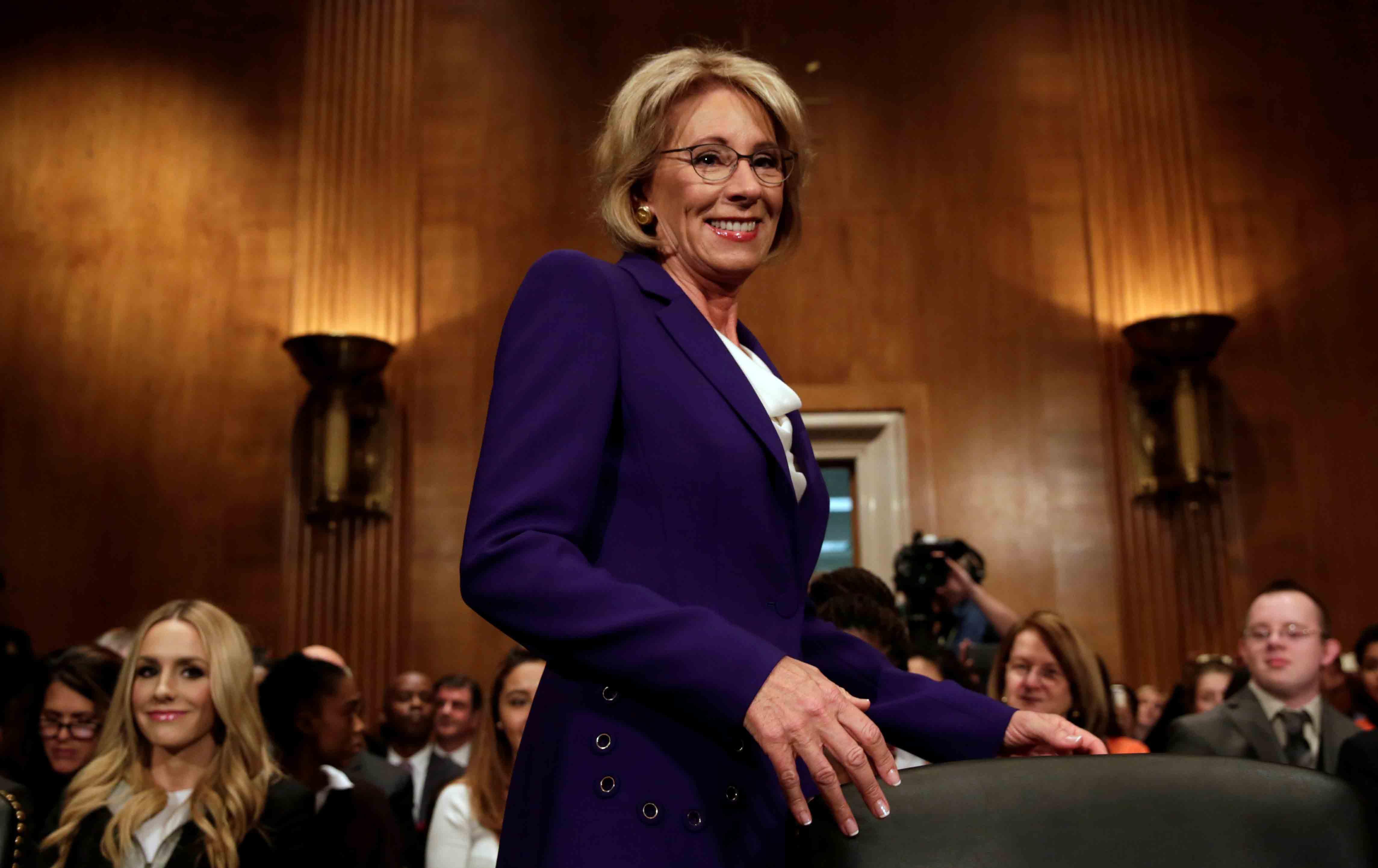 Betsy DeVos Just Flunked Her Senate Test | The Nation