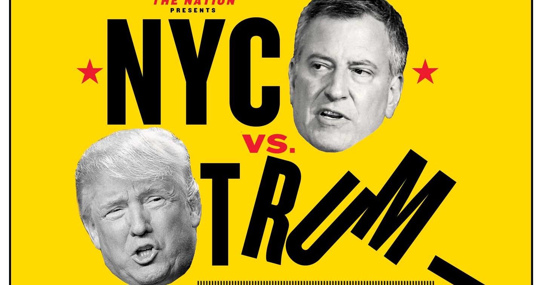 Can New York City Mayor Bill de Blasio Be the Anti-Trump?