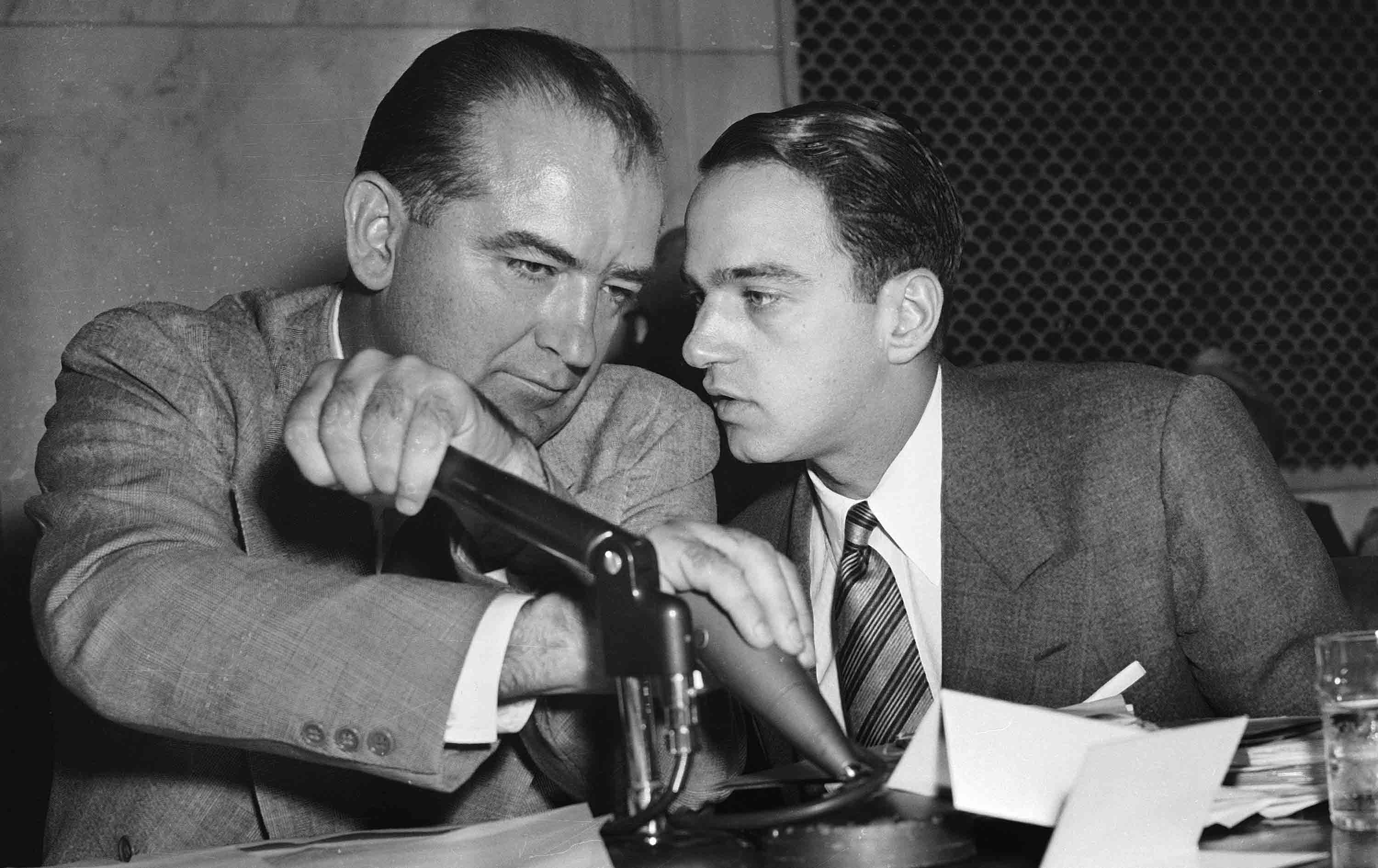 Image result for roy cohn and joe mccarthy