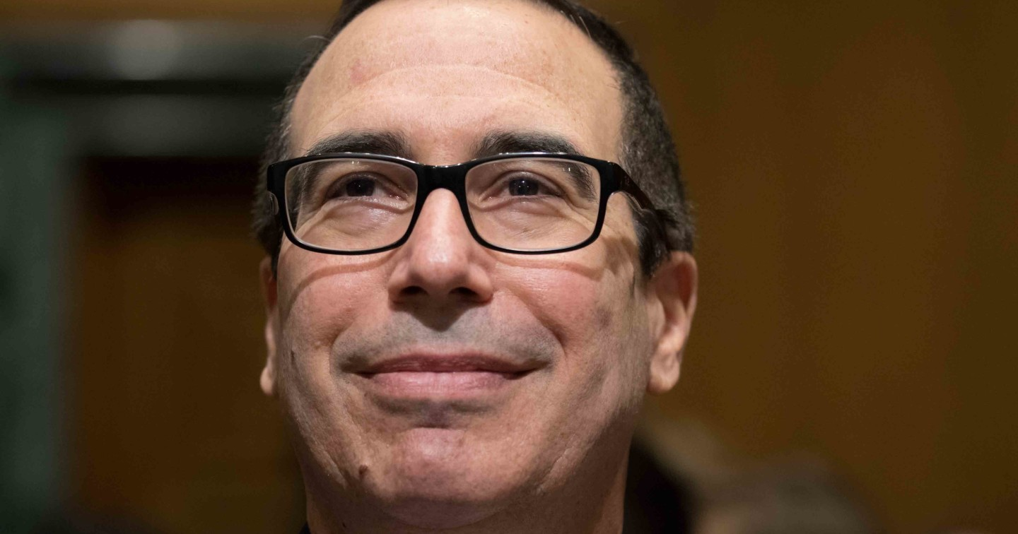 Democrats Missed an Opportunity to Expose Steve Mnuchin as a Predator