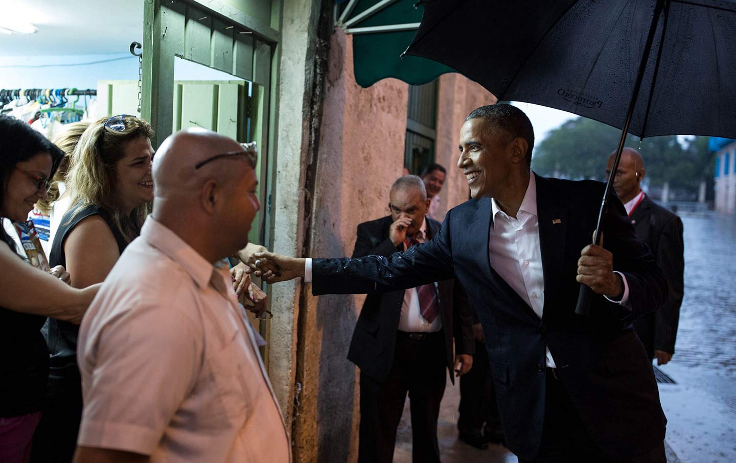 Trump is threatening to roll back normalization with cubaheres president barack obama greets people in old havana cuba in march 2016 official white house photo by pete souza m4hsunfo