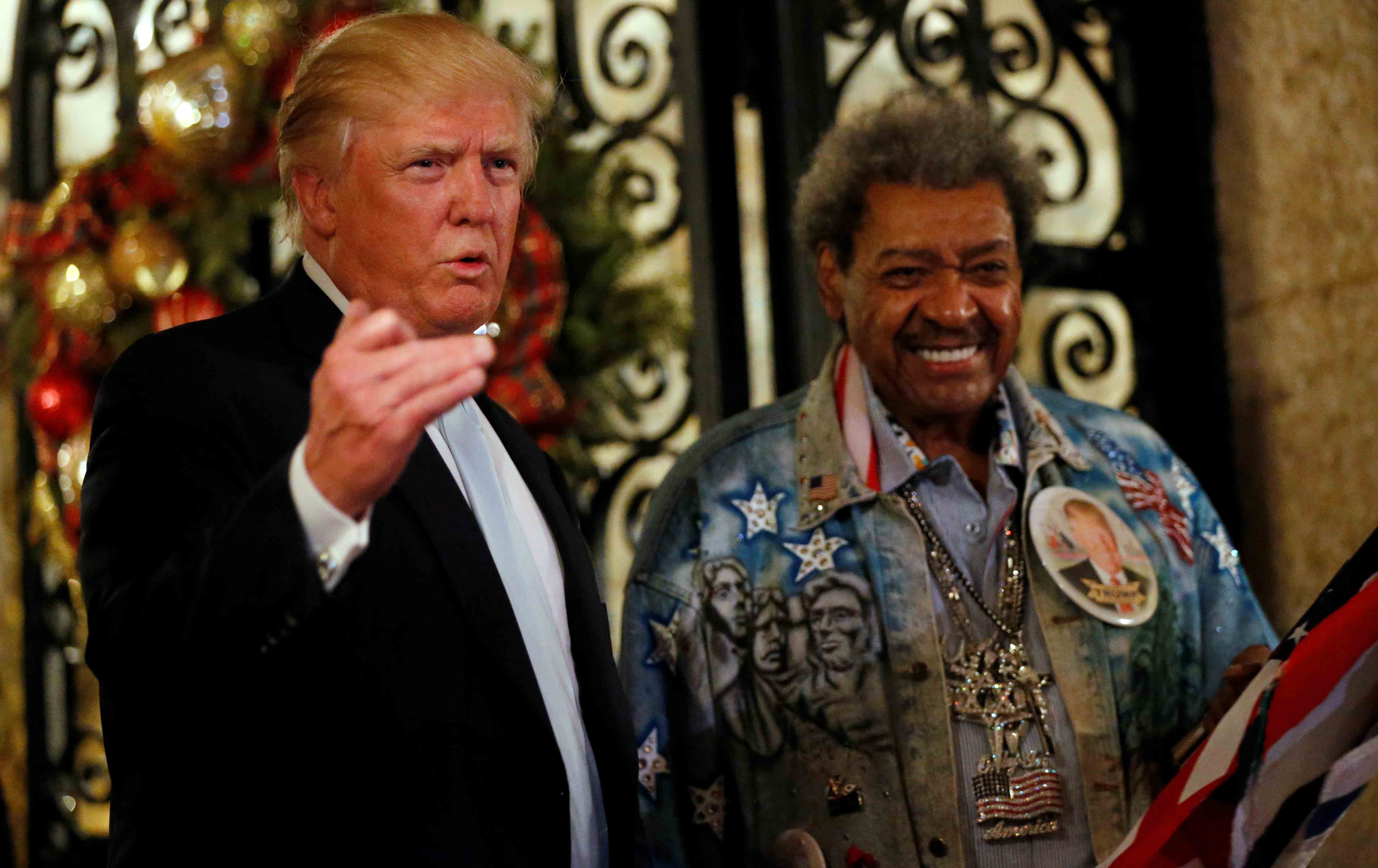 Donald Trump and Don King.