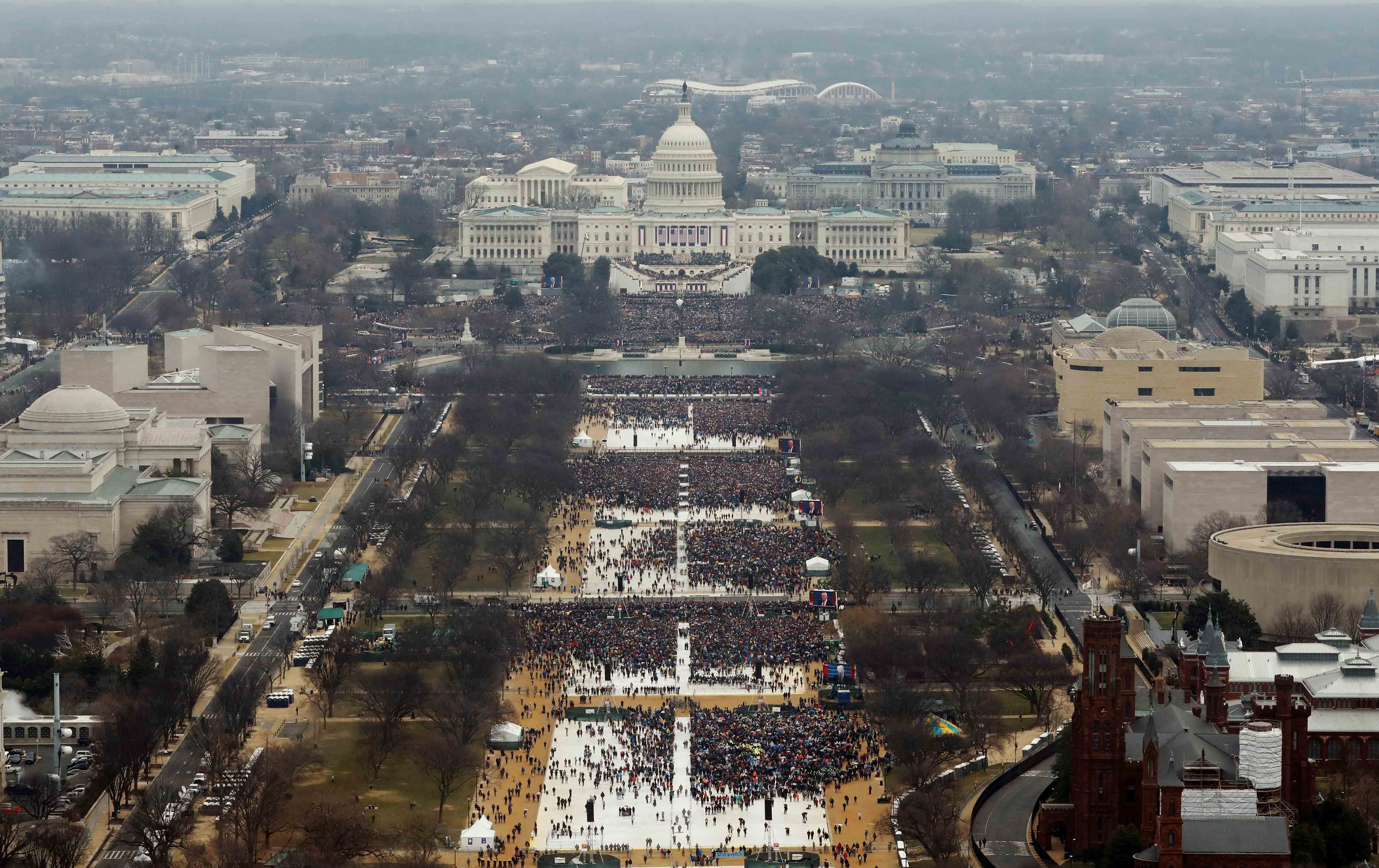 Donald Trump's inauguration.