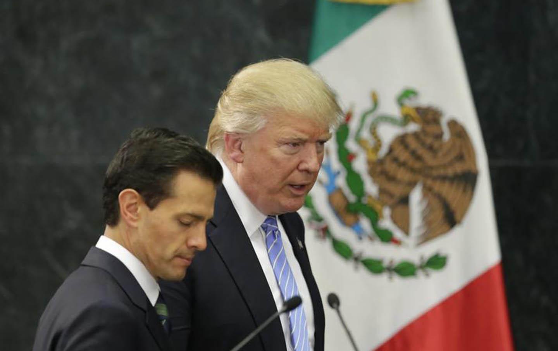 Trump and Peña Nieto