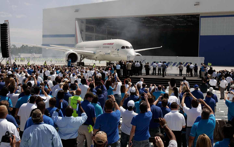 Boeing workers
