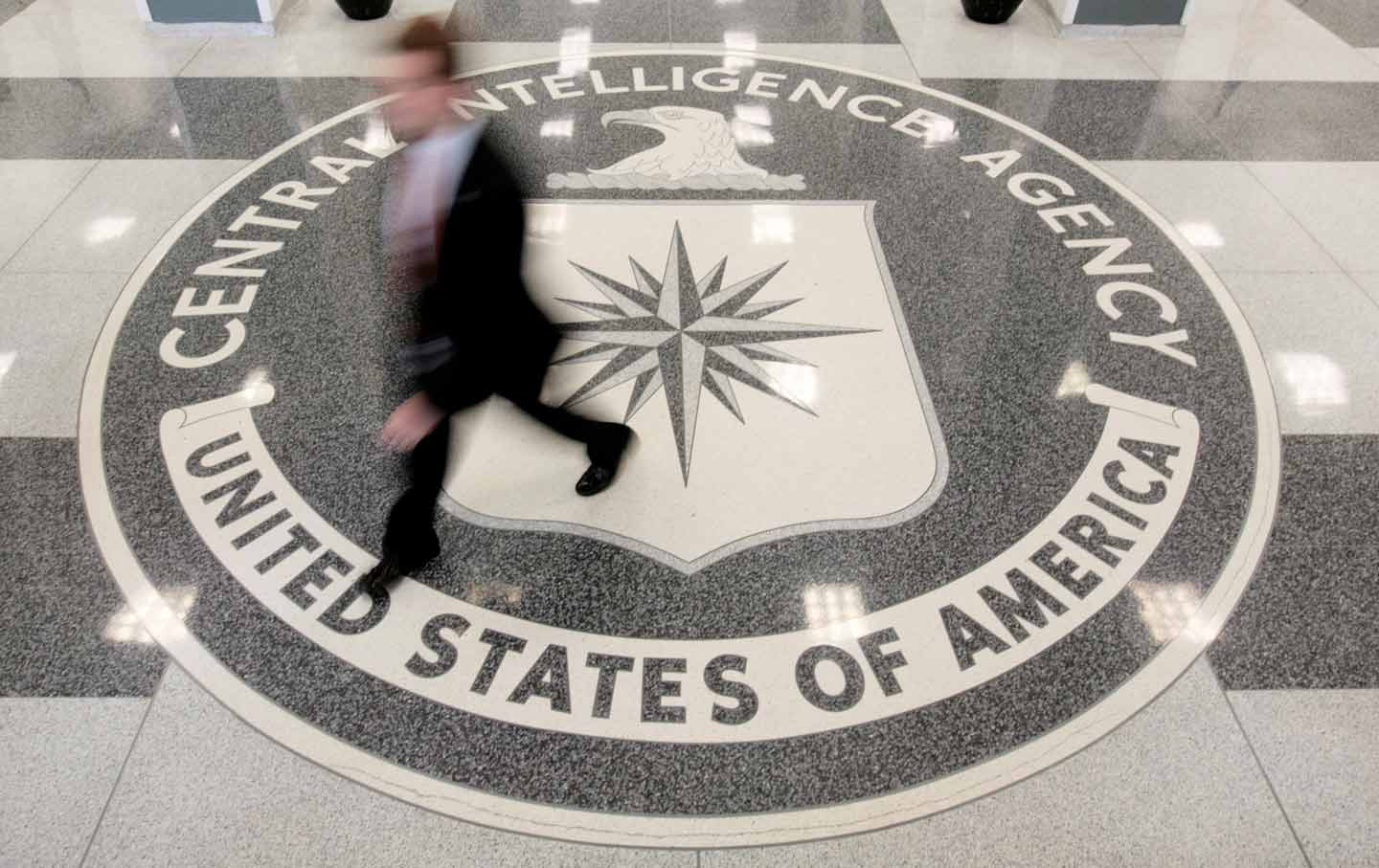 The Lobby Of The CIA Headquarters Building In Langley, Virginia. (Reuters /  Larry Downing) Nice Look