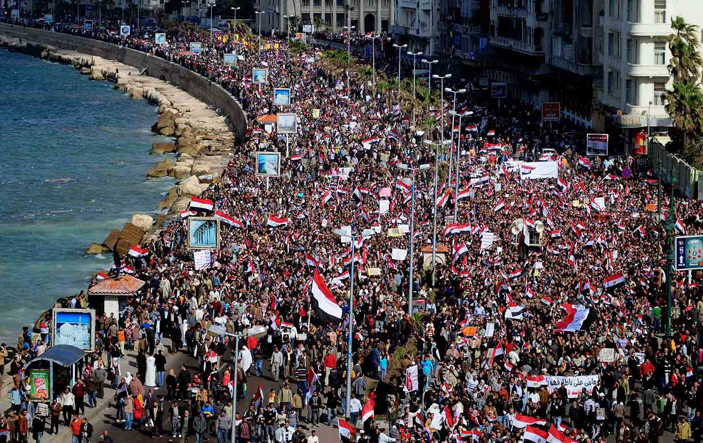 Alexandria during the 2011 uprising