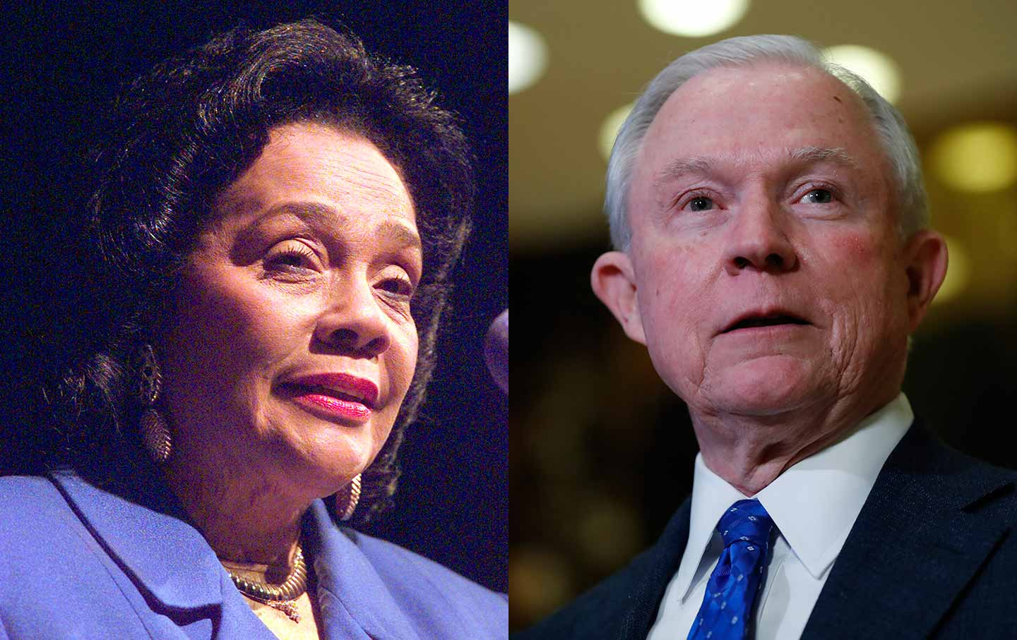 Coretta KingCoretta Scott King and Jeff Sessions
