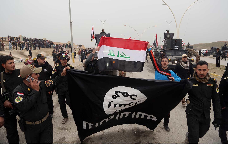 Iraqi army in Mosul