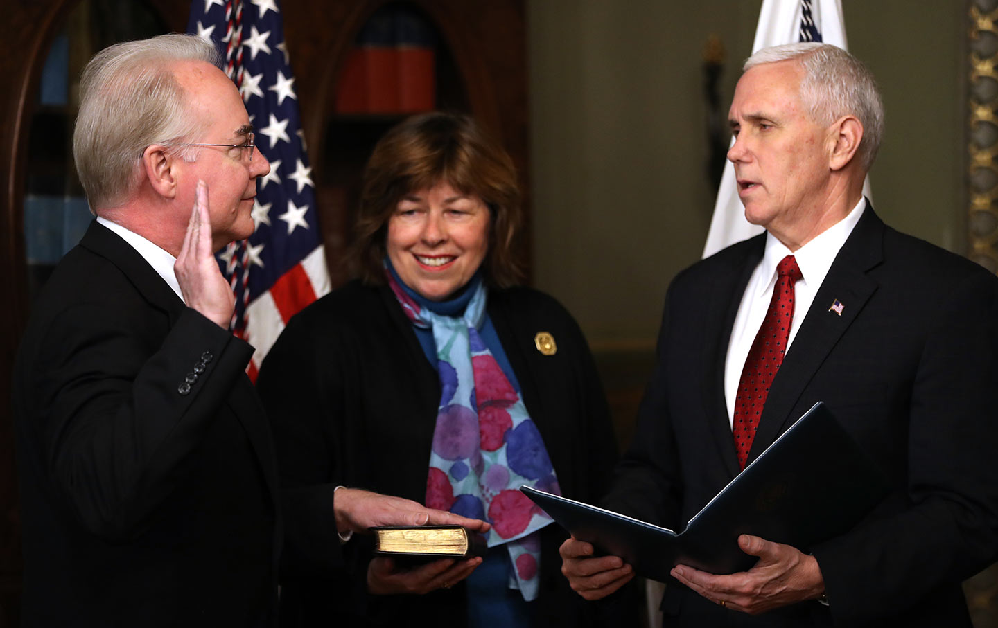 Tom Price, Mike Pence