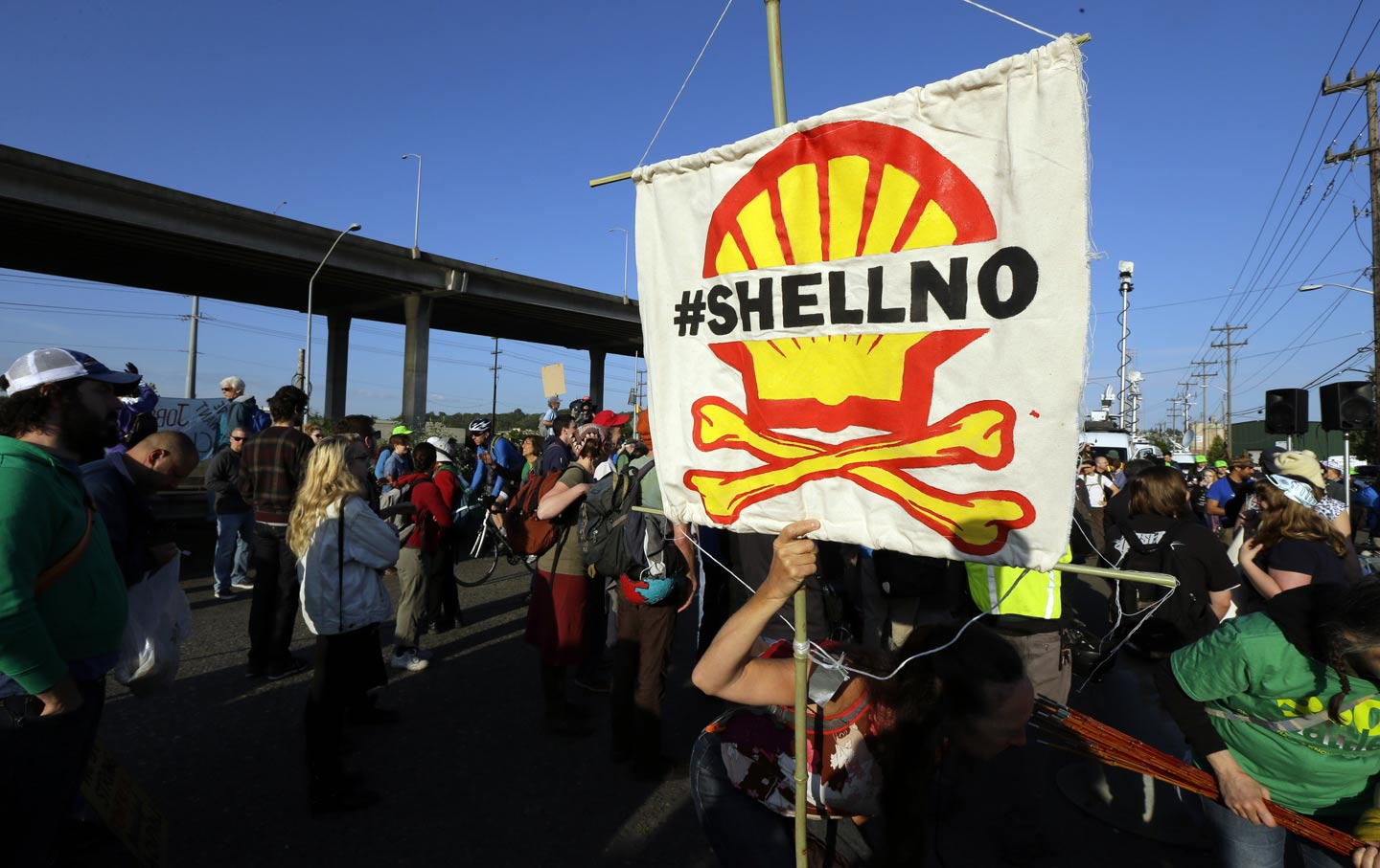 Shell No Protest